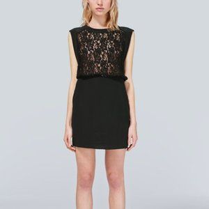 WILFRED Sablons 100% Silk Lace Cocktail Dress